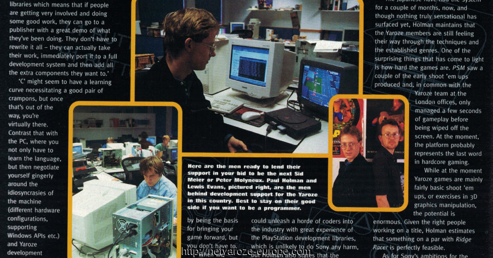 Image: issue 17 March 1997 Introducing PlayStation Yaroze